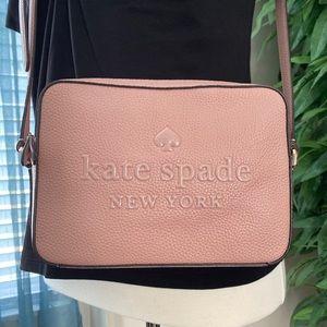 NEW KATE SPADE CROSSBODY NEW YORK BLUSH PURSE